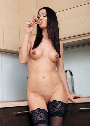 Mature Lara Lost in provocative lingerie